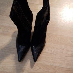Black Nine West Ankle Boots